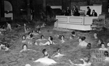 The Roman Rendezvous and jazz band at the Roman Baths, Bath, 1 June 1972