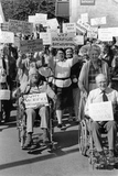 Batheaston Bypass protesters 1 June 1992