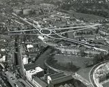 c.1965 The proposed traffic interchange south of the river in Bath