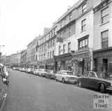Southgate Street east side looking north, 20 July 1971