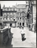 Abbey Church Yard from Kingston Parade, looking towards Marshall Wade's House c.1900