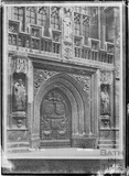 Bath Abbey West Door, 1934