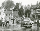 Floods in Weston Village 28 Oct 1960