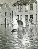 Shipwrecked during the floods, 139Lower Bristol Road, Bath c.1960