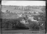 View of Monkton Combe village from the opposite side looking north west c.1910