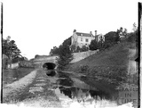 The Somersetshire Coal Canal at Brassknocker Basin, Monkton Combe, c.1904