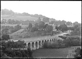 Limpley Stoke Viaduct and Viaduct Inn c.1930