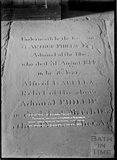 Gravestone for Admiral Phillip, Bathampton Church c.1912