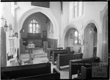 Inside Limpley Stoke Church 4 May 1939
