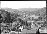 View of the Limpley Stoke Valley towards Dundas Aqueduct c.1930s