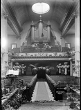 Inside St James Church c.1930s