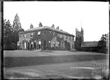 Combe Hay Manor and Church c.1930s
