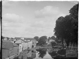 The Kennet and Avon Canal viewed from Bathwick Hill, Bath July 1954