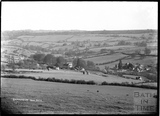 Distant view of Dunkerton and the surrounding landscape, c. Sept 1938