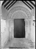 Norman Doorway, Southstoke Church, 22 March 1938