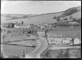 View of the Fosse Way (A367, Dunkerton Hill), Dunkerton, c. Sept 1938