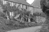Wellow village view No. 11 c.1950 - detail