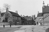 Children playing in the High Street, Wellow c.1930 - detail