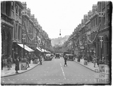 Looking down Milsom Street, May 1937