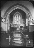 Inside Charlcombe Church c.1920s