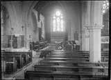 Inside Bathford Church c.1920s