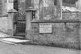 Saxon Church, Bradford on Avon 28 Oct 1936 - detail
