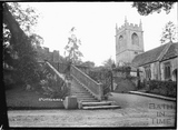 Church and steps, St Catherines Court c.1910