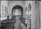 Inside Cold Ashton church c.1920s