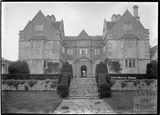 Cold Ashton Manor, front elevation, 1935