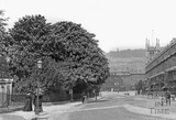 Raby Place, Bathwick Hill c.1910 - detail