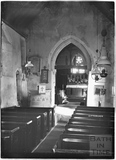 Inside the Church at Ditteridge, 1935