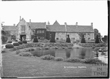 South Wraxall Manor with pond 1935