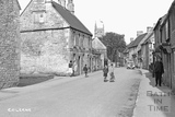 High Street, Colerne April 1933 - detail