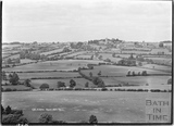 View of Colerne from Box Hill 18 June 1936