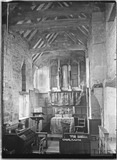 Inside the Chapel at Chapel Plaister c.1920s