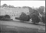 Cavendish Crescent and All Saints Chapel c.1934