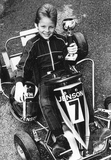 A young Jenson Button kart star aged 8, 23 Dec 1988