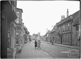 Marshfield High Street, The Catherine Wheel c.1936