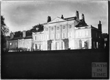 Floodlit Shockerwick House 1920s