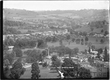 View of Bathampton and Batheaston from Hampton Down c.1920s