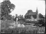 View of Great Chalfield Church Sept 1922