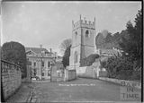 Widcombe Manor and Church c.1930s