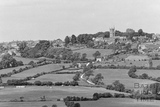 View of Colerne from Box Hill 18th June 1936 - detail