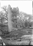 Ruined tower at Farleigh Castle c.1931