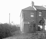 101 Lymore Avenue, South Twerton, Bath with Mr. Ford posing outside c.1920