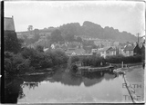 Beechen Cliff and view of Kennet and Avon Canal, Widcombe, Bath c.1920