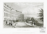 Camden Place (Crescent), Bath 1829