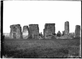 Waiting for sunrise, Stonehenge c.1929
