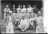 Cricket Team, most probably Bath c.1905