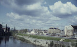 View of River Avon from Old Bridge, Bath 1964